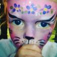 Gwyneth Paltrow fête les douze ans de sa fille Apple, en partageant une photo d'elle à l'âge de deux ans. Photo publiée sur Instagram, le 14 mai 2016