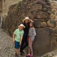 Gwyneth Paltrow a partagé une photo d'elle et ses enfants Apple et Moses sur sa page Instagram, au mois d'avril 2016
