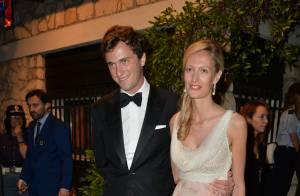 Le prince Amedeo de Belgique et Elisabetta parents d'une petite fille