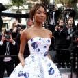 """Jourdan Dunn - Montée des marches du film """"La fille inconnue"""" lors du 69ème Festival International du Film de Cannes. Le 18 mai 2016. © Borde-Jacovides-Moreau/Bestimage"""