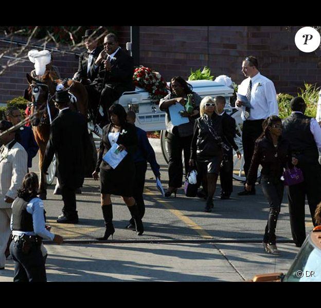 Les obsèques des proches de Jennifer Hudson