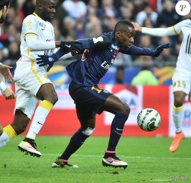 Blaise Matuidi lors du match PSG-Lille en finale de Coupe de la Ligue. Saint-Denis, le 23 avril 2016.