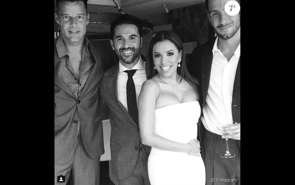 Ricky Martin au mariage d\u0027Eva Longoria et Jose Antonio Baston le 21 mai 2016