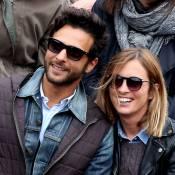 Maxim Nucci et Isabelle Ithurburu s'affichent très amoureux à Roland-Garros !