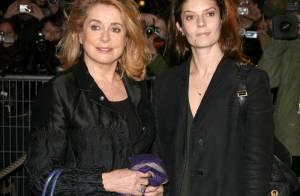 REPORTAGE PHOTOS : Catherine Deneuve très fière de sa superbe fille Chiara Mastroianni !