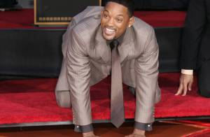 Will Smith laisse sa trace sur Hollywood Boulevard