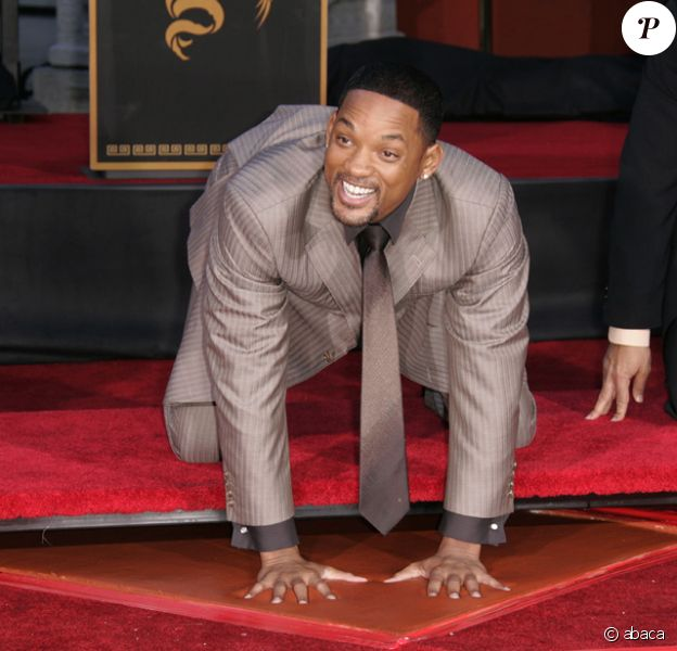 Will Smith laisse ses empreintes sur Hollywood Boulevard
