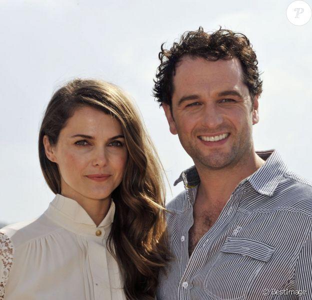 Matthew Rhys et Keri Russell à Cannes pour le MIPCOM le 8 octobre 2012