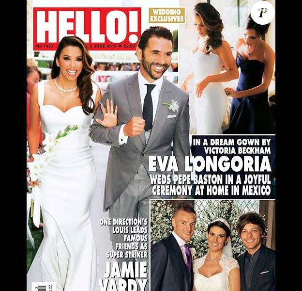 Eva Longoria : Sa robe de mariée signée Victoria