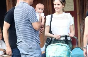 Rose Byrne : Première sortie avec bébé Rocco, sosie de son papa Bobby Cannavale
