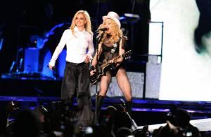 VIDEO : Britney, regardez son grand retour sur scène avec Madonna !