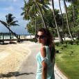 Marine Lorphelin, à Tahiti en 2015. Son petit ami François lui demande de revenir !