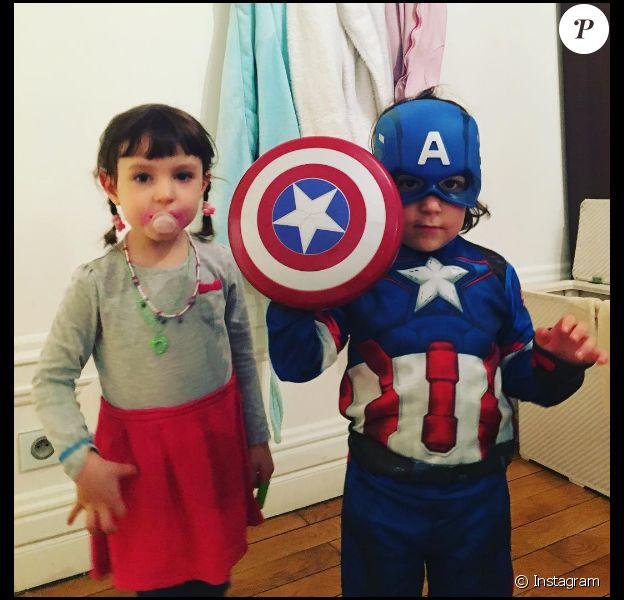 Lola et Jean-Marie Bigard : Jules se la joue Captain America et Bella a tout de sa maman
