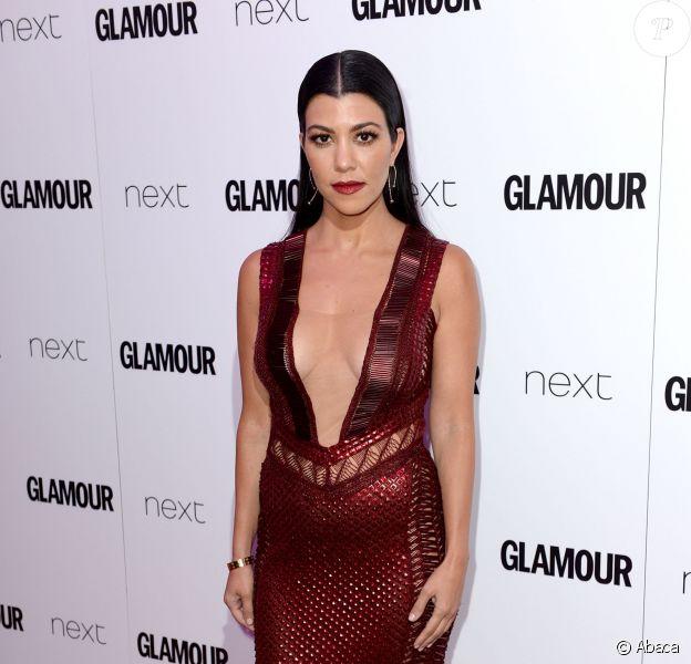 Kourtney Kardashian assiste aux Glamour Women of the Year Awards aux Berkeley Square Gardens. Londres, le 7 juin 2016.