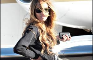 REPORTAGE PHOTOS : Lindsay Lohan et Samantha Ronson, s'envolent pour une nouvelle escapade amoureuse