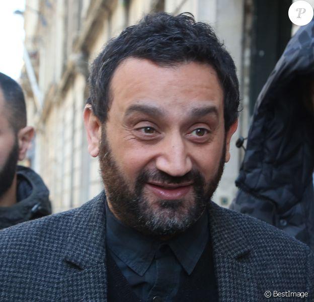 Cyril Hanouna - Arrivées des people à la radio Europe1 à Paris le 14 avril 2016.