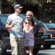 Exclusif - Jamie Lynn Spears et son ami Casey Aldridge dans les rues de Los Angeles, le 10 juin 2007