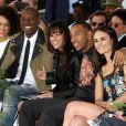 Tyrese Gibson, Michelle Rodriguez, Ludacris, Jordana Brewster - Vin Diesel laisse ses empreintes dans le ciment du TCL Chinese Theater à Hollywood, le 1er avril 2015