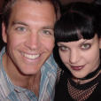 Michael Weatherly et Pauley Perrette. L'actrice a posté une des premières photos prises avec son ami sur le tournage de NCIS.