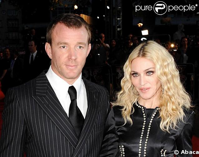 Guy Ritchie et Madonna à l'époque de l'amour fou