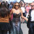 Mariah Carey arrive à l'émission 'Jimmy Kimmel Live!' à Hollywood, le 1er juin 2016