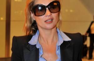 REPORTAGE PHOTOS : Kate Moss, c'est quoi cette peau toute fripée ?