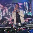 """Craig David en concert sur la scène du Badaboum lors de la soirée """"Elevenparis"""" à Paris, le 22 juin 2016. © CVS-Bellak/Bestimage"""