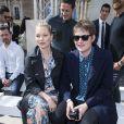 Kate Moss et Nikolai Von Bismarckassistent au défilé de mode Louis Vuitton au Palais-Royal. Paris, le 23 juin 2016. © Olivier Borde / Bestimage