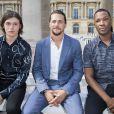 Nick Robinson, Ben Robson et Corey Hawkinsassistent au défilé de mode Louis Vuitton au Palais-Royal. Paris, le 23 juin 2016. © Olivier Borde / Bestimage