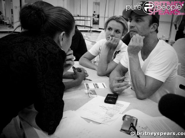 Britney Spears fait passez une audition à L.A