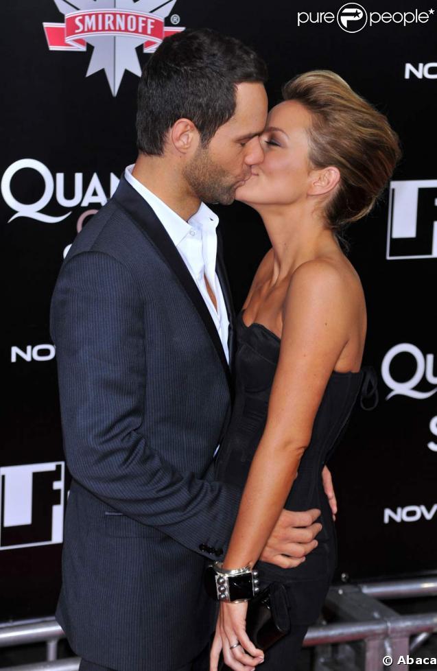 Becki Newton couple