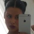 Ayem Nour, jeudi 30 juin 2016 ,sur Snapchat : De retour après son accouchement