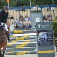 Guillaume Canet sur Babeche - Prix Laiterie de Montaigu - Longines Paris Eiffel Jumping à la plaine de Jeux de Bagatelle à Paris, le 2 juillet 2016. © Borde-Veeren/Bestimage