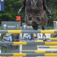 Sh. Hasan Bin Rashid Al Khalifa sur HBR Vance - Prix Laiterie de Montaigu - Longines Paris Eiffel Jumping à la plaine de Jeux de Bagatelle à Paris, le 2 juillet 2016. © Borde-Veeren/Bestimage