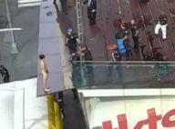 Krit McClean : Le beau mannequin se met totalement nu et pète un câble
