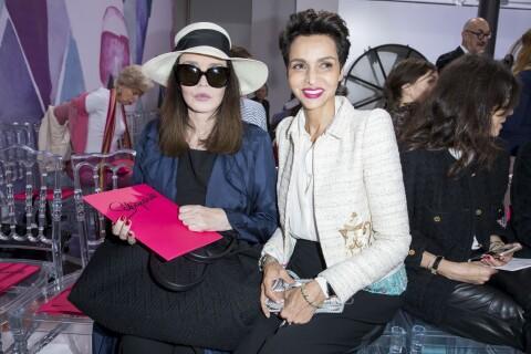 Fashion Week : Isabelle Adjani, spectatrice star d'un show haut en couleur