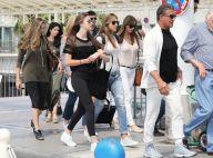 Sylvester Stallone : Entouré de ses bombes de filles, il débarque en France