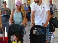 Shakira et Gerard Piqué : Vacances en famille avec Milan et Sasha après l'Euro