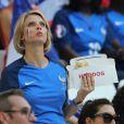 Sylvie Tellier - People assistent à la demi-finale de l'Euro 2016 Allemagne-France au stade Vélodrome à Marseille, France, le 7 juillet 2016. © Cyril Moreau/Bestimage