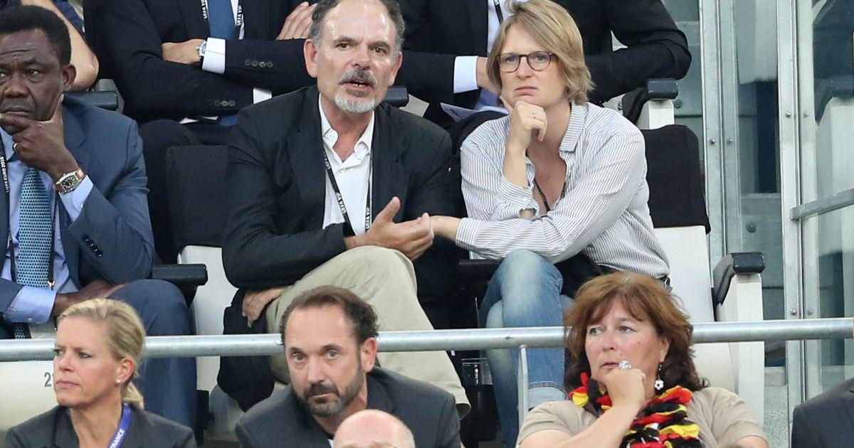 Jean pierre darroussin et sa femme anna novion people assistent la demi finale de l 39 euro - Jean francois balmer et sa femme ...