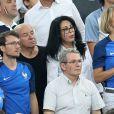 Yamina Benguigui, Sylvie Tellier - People assistent à la demi-finale de l'Euro 2016 Allemagne-France au stade Vélodrome à Marseille, France, le 7 juillet 2016. © Cyril Moreau/Bestimage