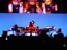 PHOTOS EXCLUSIVES : Jean-Michel Jarre, sa tournée événement Oxygène 2008 ne manque pas d'air !