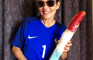 Euro 2016 - Cristina Cordula, fan des Bleus, a pris une incroyable décision !