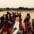 Madonna assiste au baptême tribal de son fils David Banda au Malawi. Photo publiée sur Instagram, le 9 juillet 2016