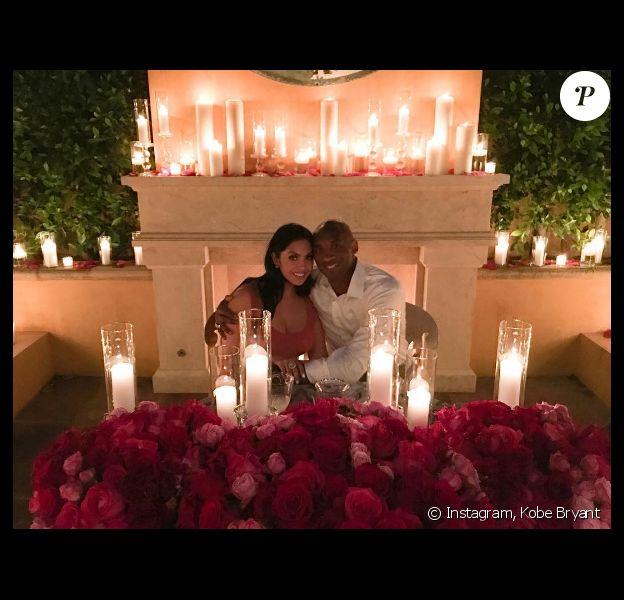Photo de Kobe et Vanessa Bryant publiée le 18 avril 2016.