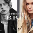 Campagne BRIT de Burberry. Photos par Brooklyn Beckham.