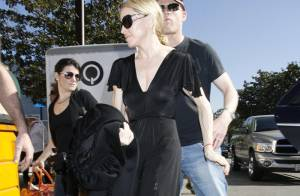 REPORTAGE PHOTOS : Madonna et  Louis Vuitton : la (bonne) affaire est bien dans le sac...