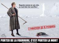PHOTO : Brigitte Bardot  s'en va-t-en guerre contre les amateurs de vraie fourrure. Des noms? Suivez son regard...