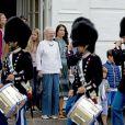 Gräfin Ingrid, la reine Margrethe, la princesse Mary - La famille royale de Danemark lors d'un photocall au palais de Grasten, le 15 juillet 2016.15/07/2016 - Grasten