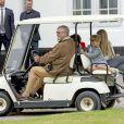 Le prince Henrik, le prince Vincent, Gräfin Ingrid - La famille royale de Danemark lors d'un photocall au palais de Grasten, le 15 juillet 2016.15/07/2016 - Grasten